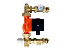 Festwertregelset / Pumpengruppe für Fußbodenheizung mit Pumpe IBO