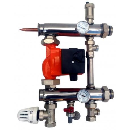 Festwertregelset für Fußbodenheizung mit Pumpe IBO