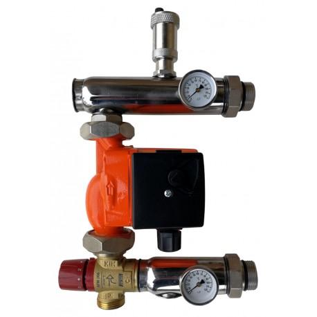 Festwertregelset für Fußbodenheizung mit Pumpe IBO + AFRISO ventil