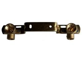 """Montageeinheit 15x1/2"""" IG - 150mm / Kupfer"""
