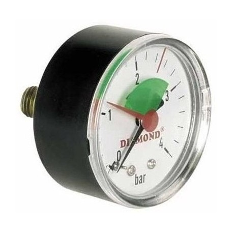 "Manometer Ø50mm 1/4"" hinter"