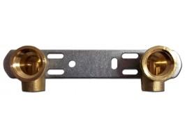 """Montageeinheit 15x1/2"""" - 150mm / Kupfer"""