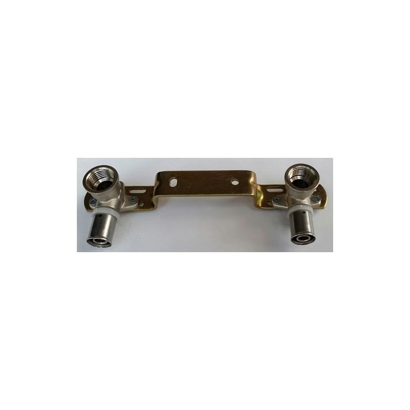 montagebr cken 15x1 2 f r mischbatterie heating instal. Black Bedroom Furniture Sets. Home Design Ideas